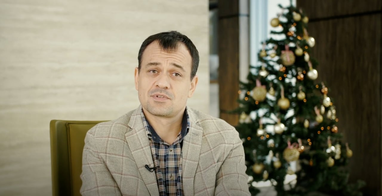 Video congratulation. Sergey Stopnevich. We wish you a Merry Christmas and Happy New Year